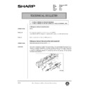 Sharp AR-405 (serv.man119) Technical Bulletin