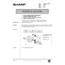 Sharp AR-405 (serv.man120) Technical Bulletin