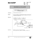 Sharp AR-405 (serv.man121) Technical Bulletin