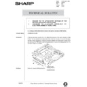 Sharp AR-405 (serv.man124) Technical Bulletin