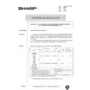 Sharp AR-405 (serv.man129) Technical Bulletin