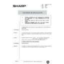 Sharp AR-405 (serv.man130) Technical Bulletin
