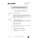 Sharp AR-405 (serv.man132) Technical Bulletin