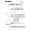 Sharp AR-405 (serv.man134) Technical Bulletin