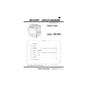 Sharp AR-405 (serv.man3) Service Manual