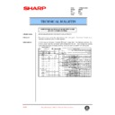 Sharp AR-405 (serv.man49) Technical Bulletin