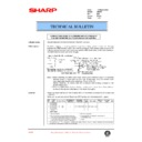 Sharp AR-405 (serv.man51) Technical Bulletin