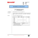 Sharp AR-405 (serv.man58) Technical Bulletin