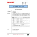 Sharp AR-405 (serv.man68) Technical Bulletin