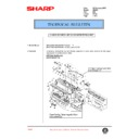 Sharp AR-405 (serv.man73) Technical Bulletin