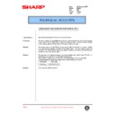 Sharp AR-405 (serv.man74) Technical Bulletin