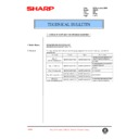 Sharp AR-405 (serv.man82) Technical Bulletin
