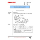 Sharp AR-405 (serv.man83) Technical Bulletin
