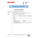 Sharp AR-405 (serv.man85) Technical Bulletin