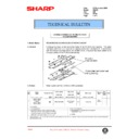 Sharp AR-405 (serv.man87) Technical Bulletin
