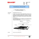 Sharp AR-405 (serv.man90) Technical Bulletin