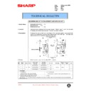Sharp AR-405 (serv.man93) Technical Bulletin