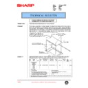 Sharp AR-405 (serv.man95) Technical Bulletin