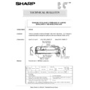 Sharp AR-5132 (serv.man100) Technical Bulletin