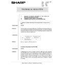 Sharp AR-5132 (serv.man101) Technical Bulletin