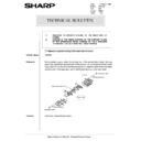 Sharp AR-5132 (serv.man102) Technical Bulletin