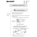 Sharp AR-5132 (serv.man103) Technical Bulletin
