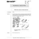 Sharp AR-5132 (serv.man104) Technical Bulletin