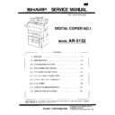 Sharp AR-5132 (serv.man11) Service Manual