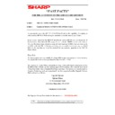 Sharp AR-5132 (serv.man111) Technical Bulletin