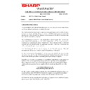 Sharp AR-5132 (serv.man114) Technical Bulletin