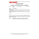 Sharp AR-5132 (serv.man119) Technical Bulletin