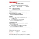 Sharp AR-5132 (serv.man120) Technical Bulletin