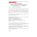 Sharp AR-5132 (serv.man123) Technical Bulletin
