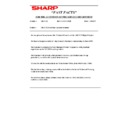 Sharp AR-5132 (serv.man124) Technical Bulletin