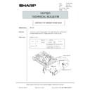 Sharp AR-5132 (serv.man128) Technical Bulletin