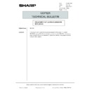 Sharp AR-5132 (serv.man129) Technical Bulletin