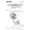 Sharp AR-5132 (serv.man130) Technical Bulletin