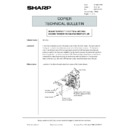 Sharp AR-5132 (serv.man131) Technical Bulletin