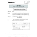 Sharp AR-5132 (serv.man133) Technical Bulletin