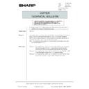 Sharp AR-5132 (serv.man134) Technical Bulletin