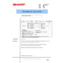 Sharp AR-5132 (serv.man56) Technical Bulletin