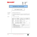 Sharp AR-5132 (serv.man60) Technical Bulletin