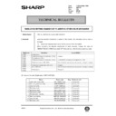 Sharp AR-5132 (serv.man63) Technical Bulletin