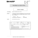 Sharp AR-5132 (serv.man67) Technical Bulletin
