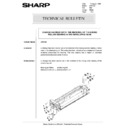 Sharp AR-5132 (serv.man68) Technical Bulletin
