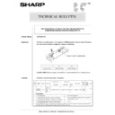Sharp AR-5132 (serv.man69) Technical Bulletin