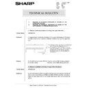 Sharp AR-5132 (serv.man70) Technical Bulletin