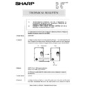 Sharp AR-5132 (serv.man71) Technical Bulletin