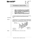 Sharp AR-5132 (serv.man72) Technical Bulletin
