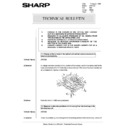 Sharp AR-5132 (serv.man73) Technical Bulletin